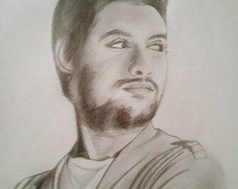 Custom handmade pencil sketch / portrait