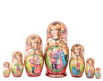 "Matryoshka doll ""Plot"" 7 places"