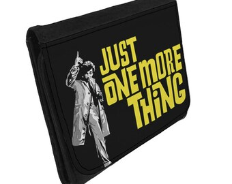 Just One More Thing - Wallet - Inspired by Columbo / Peter Falk - Ideal Secret Santa/Stocking Filler Gift