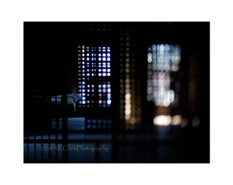 Dark Dreams Fine Art Photography 16x20 Home Decor large wall art dramatic lighting blue moody night time imaginings fantasy solitary cells