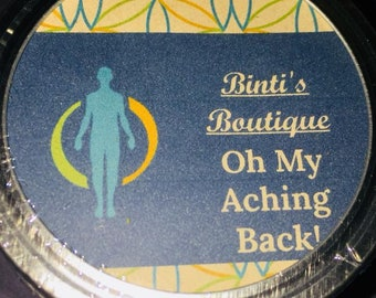 Oh, My Aching Back! - Pain-Relieving Bath Salts