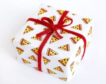 Funny Wrapping Paper - Geek Gift Wrap - Pizza