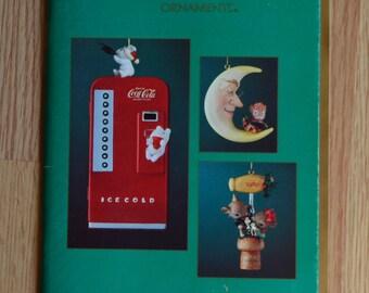 1989 Enesco Treasury of Christmas Ornament Brochure