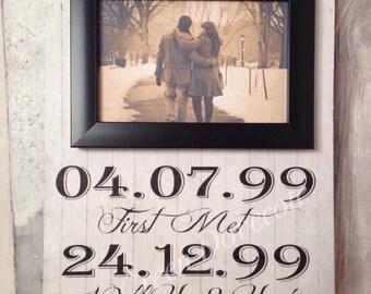 Anniversary Gift - Wedding Gift - Personalized Gift - Gift For Him Gift For Her - Housewarming Gift - Custom Wedding Gift - Gift For Husband