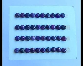 SALE,40 PCS Sugilite Gemstone fashion  jewelry Cabochons,5x3mm,6.71g (Cb072)