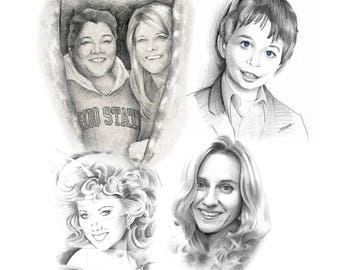 Custom Sketch Portraits