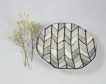 AVAILABLE NOW!! Small plate or trinket dish