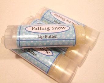 Falling Snow Lip Butter Unsweetened Lip Balm