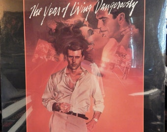 "Year Of Living Dangerously (1983, Music Maurice Jarre) 12"" Vinyl Lp MINT original soundtrack; cult collectible highly sought, order now!"
