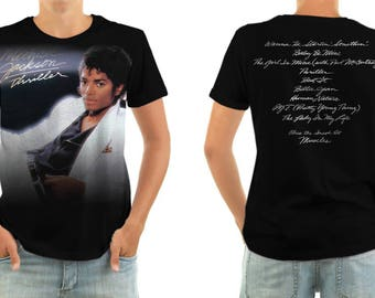 MICHAEL JACKSON thriller shirt all sizes
