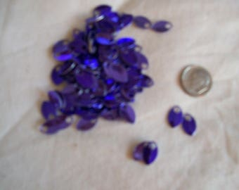 Dragon Scales - Aluminum - Tiny - Purple - Sets of 100