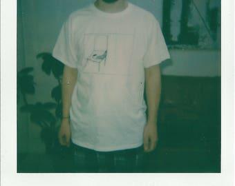 Chair Silkscreen T-shirt (Hand Printed)