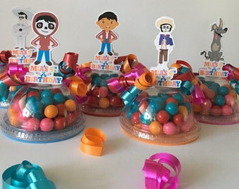 Coco Party Favor Candy Containers Set Of 8(Empty)
