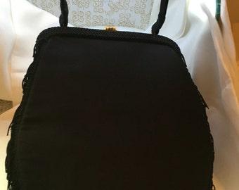 Genuine Vintage Rosenfeld satin handbag