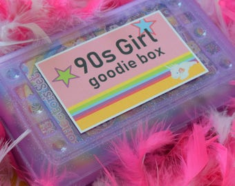 YELLOW EDITION Blast from the Past 90s Girl Goodie Box Original Kit
