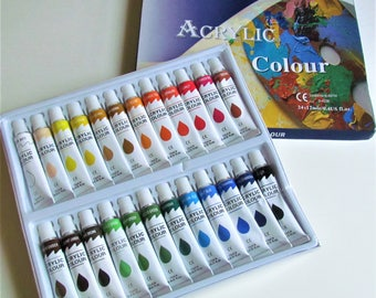 Acrylic Paint Set-24 Colors