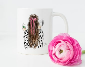 Bows and Books (mug)