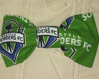 Seattle Sounders Hair Bow