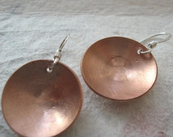 BOWL domed copper discs