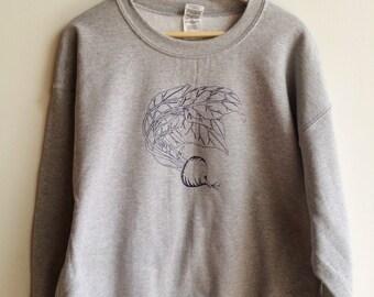Vegetable Sweatshirt, Beet Sweatshirt, Beet Print