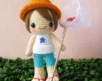 PDF Crochet Pattern - Lind
