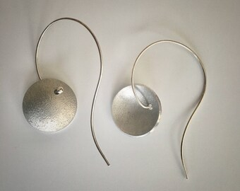 Sterling & reclaimed aluminum earrings
