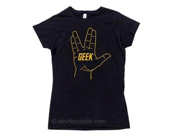 Womens Geek T Shirt