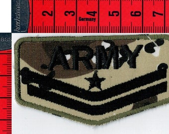 Fusible Army coat, or sewing Patch Applique