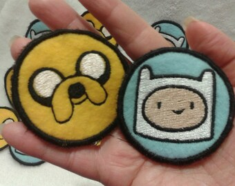 Adventure Time! Finn and Jake Patches