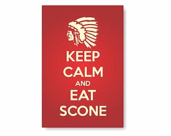 Keep Calm Eat Scone PVC Sign