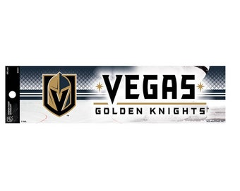 Vegas Golden Knights NHL Bumper Sticker