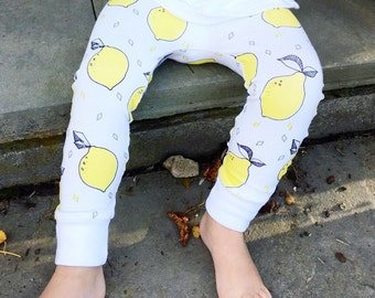 Lemon Baby + Toddler Leggings