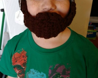 Bearded Beanie for Adults