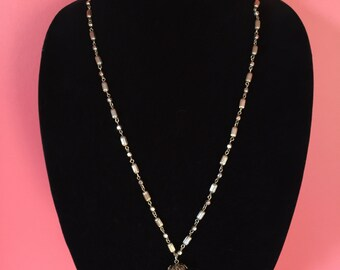 1970's Elegant Simple Tassel Necklace
