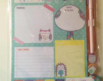 Locker Note Pad Set