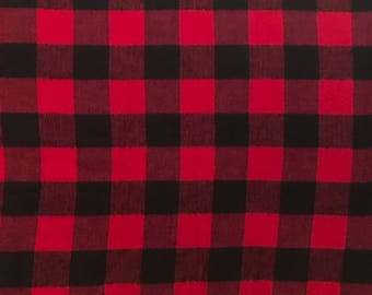 Car Seat Poncho 4 Kozy Kids (TM)-double sided, reversible, optional detachable hood & batting, safe, warm-red and black checkered flannel