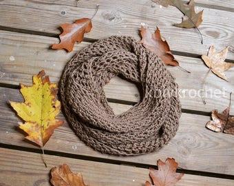 Plain Jane Crochet Scarf