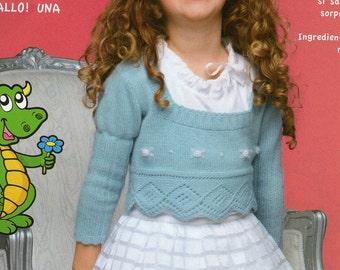 Meringue Sweater for Little Girls