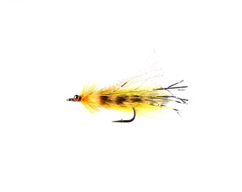 Flash Tail Whistler Bass Streamer Fishing Fly Size 3/0