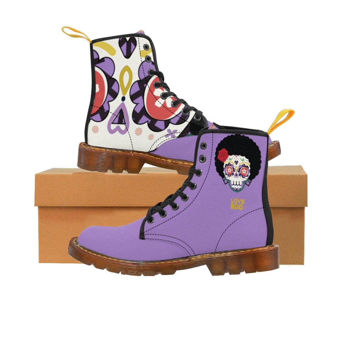 Jour d'Halloween de la mort Martin bottes WoHommes S bottes Martin de Rosa 765f32
