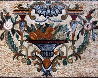 Symbolic Custom Mosaic Tile Art