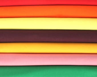 Duck Cloth Canvas Fabric 10.5 oz. Many Colors To Choose From Sold by the Yard