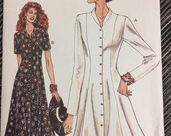 90's Vogue 9162 Misses' Dress Bust 30-34 inches Uncut  Complete Sewing Pattern