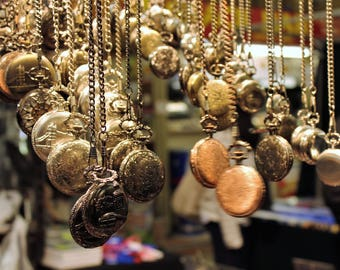 Digital Download | Printable Photography | Pocket Watch Market Place London