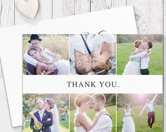 Wedding Thank Your Cards, Photo Thank You Cards, Professionally Printed on Highest Quality Cardstock - Peach Perfect Australia