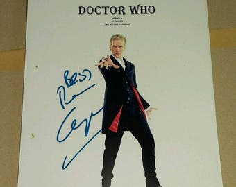 Script Screenplay  Doctor Who Peter Capaldi Season 9 Episode 2 ( printed not hand signed) Plus free gift