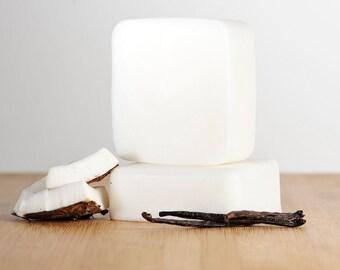 Coconut Vanilla Soap, Coconut Soap, Vanilla Soap, Natural Soap, Handmade Soap, Bar Soap