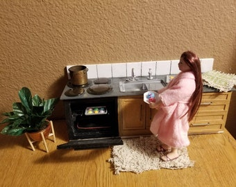 Kitchen Sink and Stove