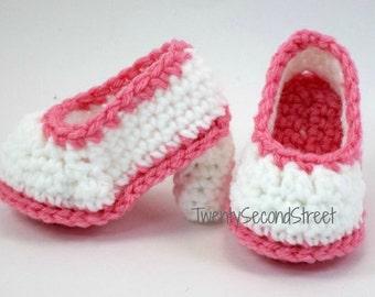 Baby High Heels Crochet Baby Booties Shoes