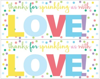 Sprinkling Us with Love - Pastel Confetti